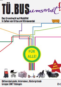 Broschüre TüBus umsonst 2011
